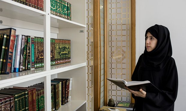 Mariam al Zaidi, one of the first Emirati women trained and educated through the UAE government program.