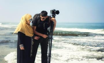 How a Woman in Gaza Surprised Her Husband on Their 5th Anniversary
