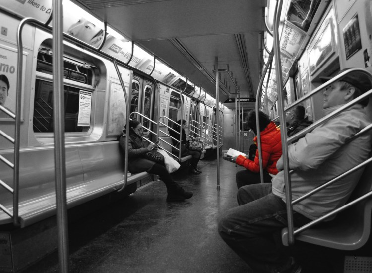 The 7-Minute Subway Prayer — by the Man in the Orange Jacket