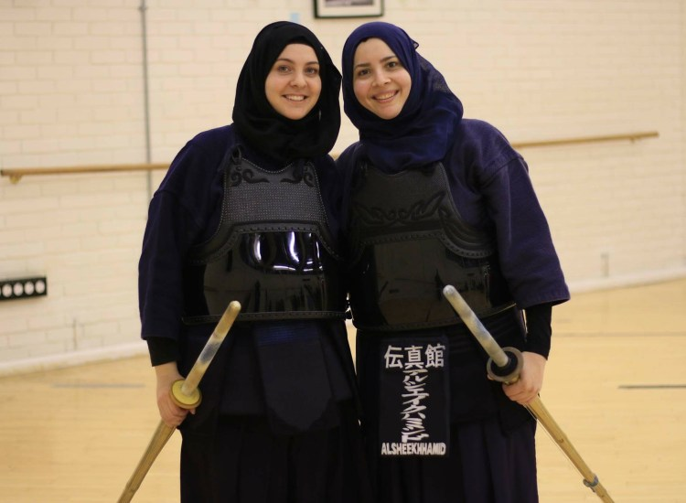 What It's Like to Be a Headscarf-Clad Muslim Girl in Kendo