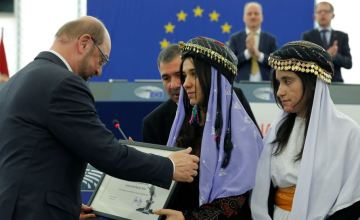 These Yazidi Women Were Awarded the Sakharov Prize for Activism & Bravery