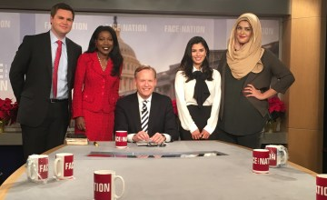 Muslim Girl Joins CBS's Face the Nation for New Year