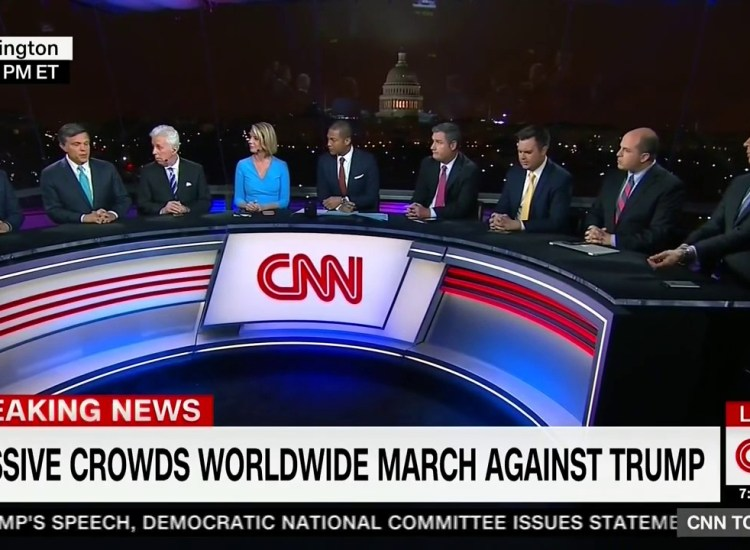 The Women's March Panel Coverage Had Only One Woman