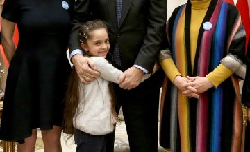 Lindsay Lohan and Bana Alabed Met With Turkey's President to Discuss Refugees
