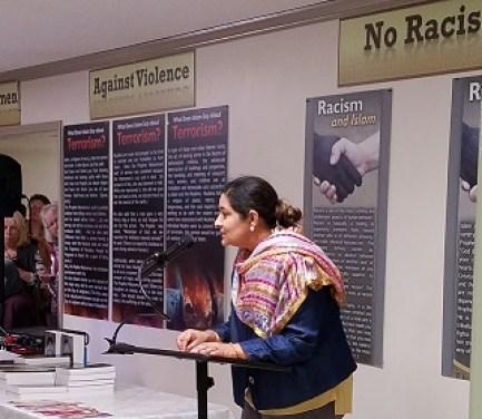 Islamic Center President, Amna Ali