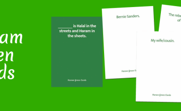 There's Now a Muslim Cards Against Humanity: Haram Green Cards