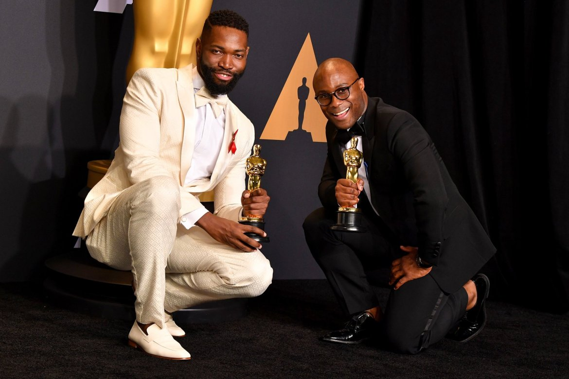 Tarell Alvin McCraney and Barry Jenkins - WireImage
