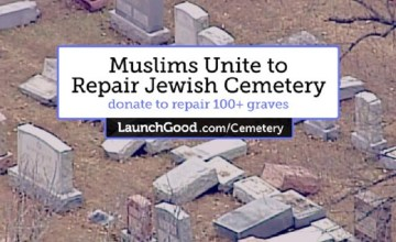 Muslim Activists Raise $100,000 to Repair Vandalized Jewish Cemeteries