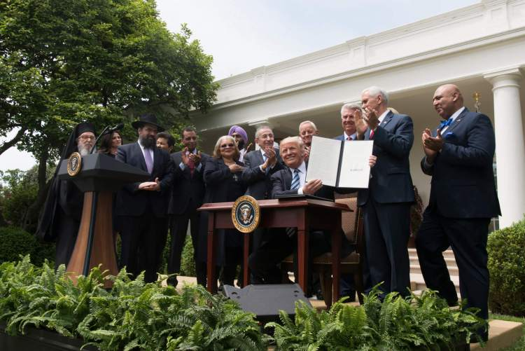 church and state executive order