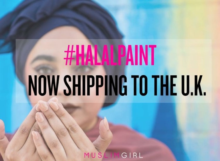 #HalalPaint is Coming to the UK
