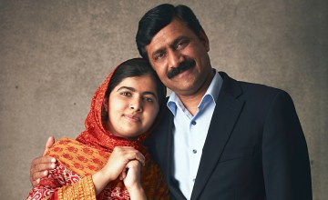 Malala's Father Has a Message About Equality and Empowering Daughters