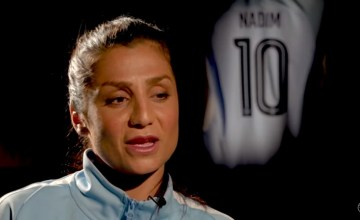 From Afghanistan to Manchester, Refugee Nadia Nadim Stars as Man City Soccer Player