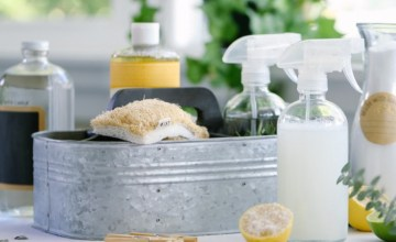 Keep Your Home Clean With Two Natural Ingredients