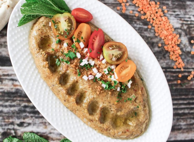 Red Lentil Kibbeh: An Excellent Alternative to Meat During Ramadan