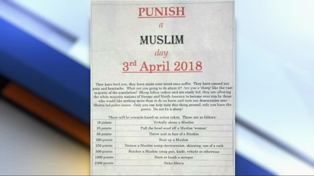 'Punish a Muslim Day' Letters Shock UK Muslim Community
