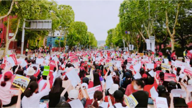 Women in South Korea Join the #MeToo Movement By Calling Out Sex Crime Inequality