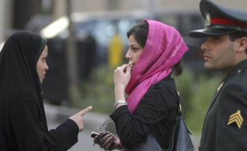 A Young Iranian Girl Was Beaten in Public for Not Covering Her Hair