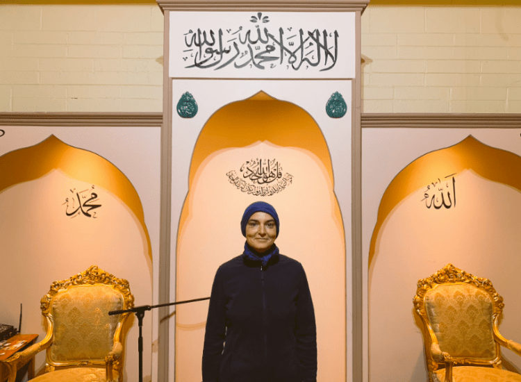 Famed Singer Sinead O'Connor Finds Peace in Reversion to Islam