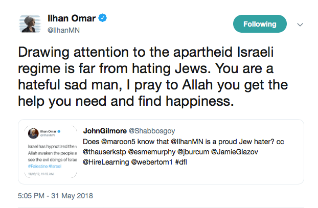 ilhan omar  why advocating for palestine is not anti