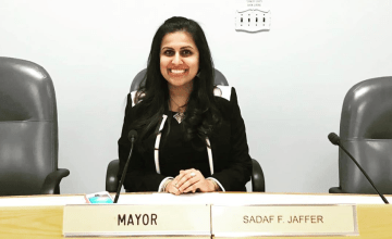 New Jersey Town Swears In First South Asian Muslim Mayor