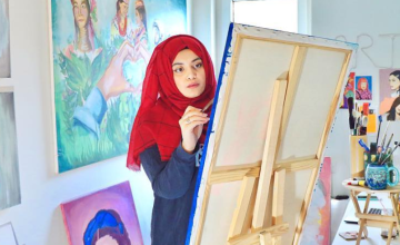 Meet Maliha Abidi Abbas, the Artist Working to Challenge the Discourse Surrounding Pakistani Women