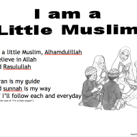 Muslim Rhyme - I'm a little Muslim