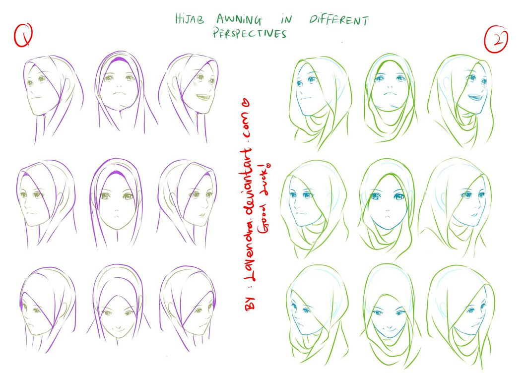 Hijab Awning Perspectives
