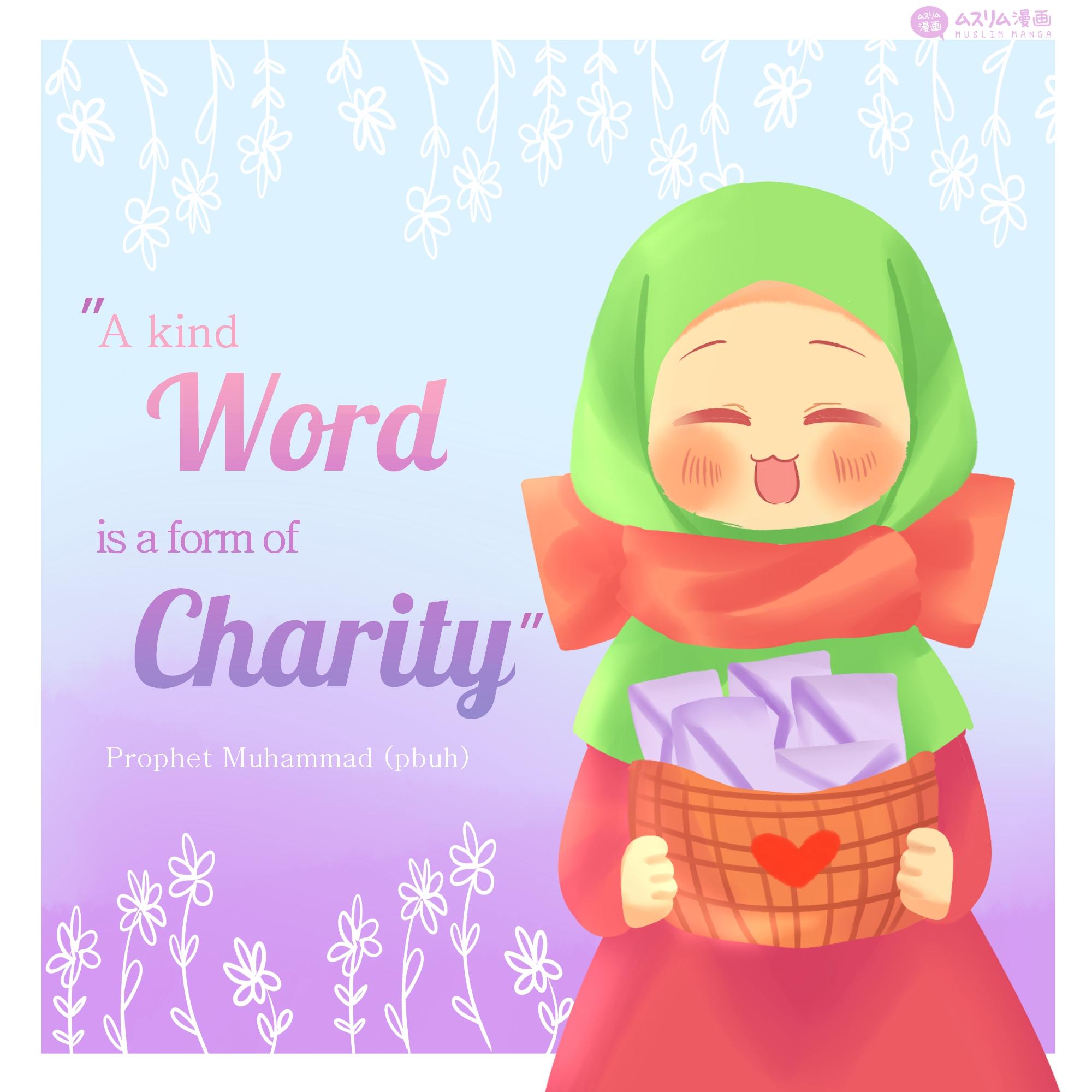 a kind word