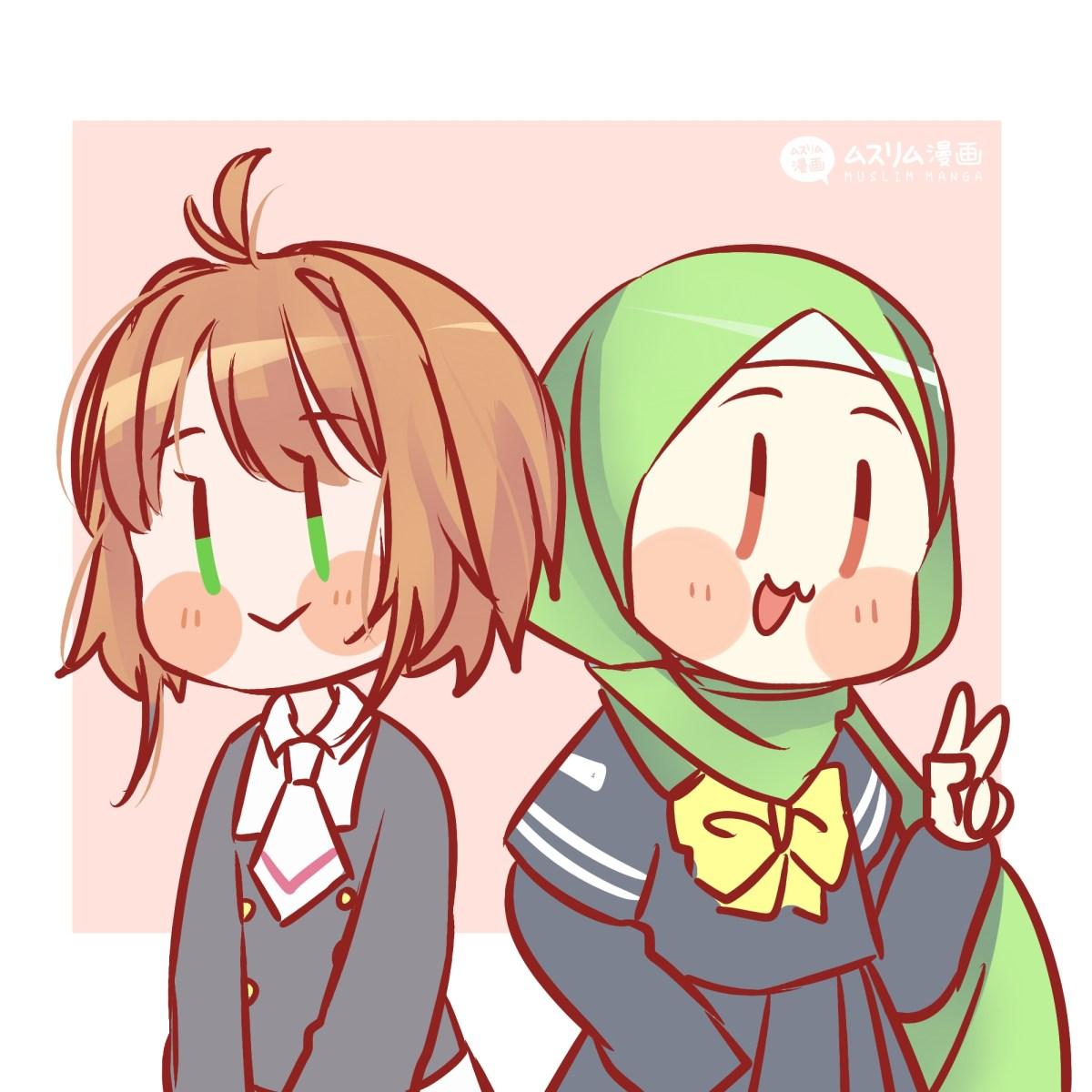 fanart aya and sakura