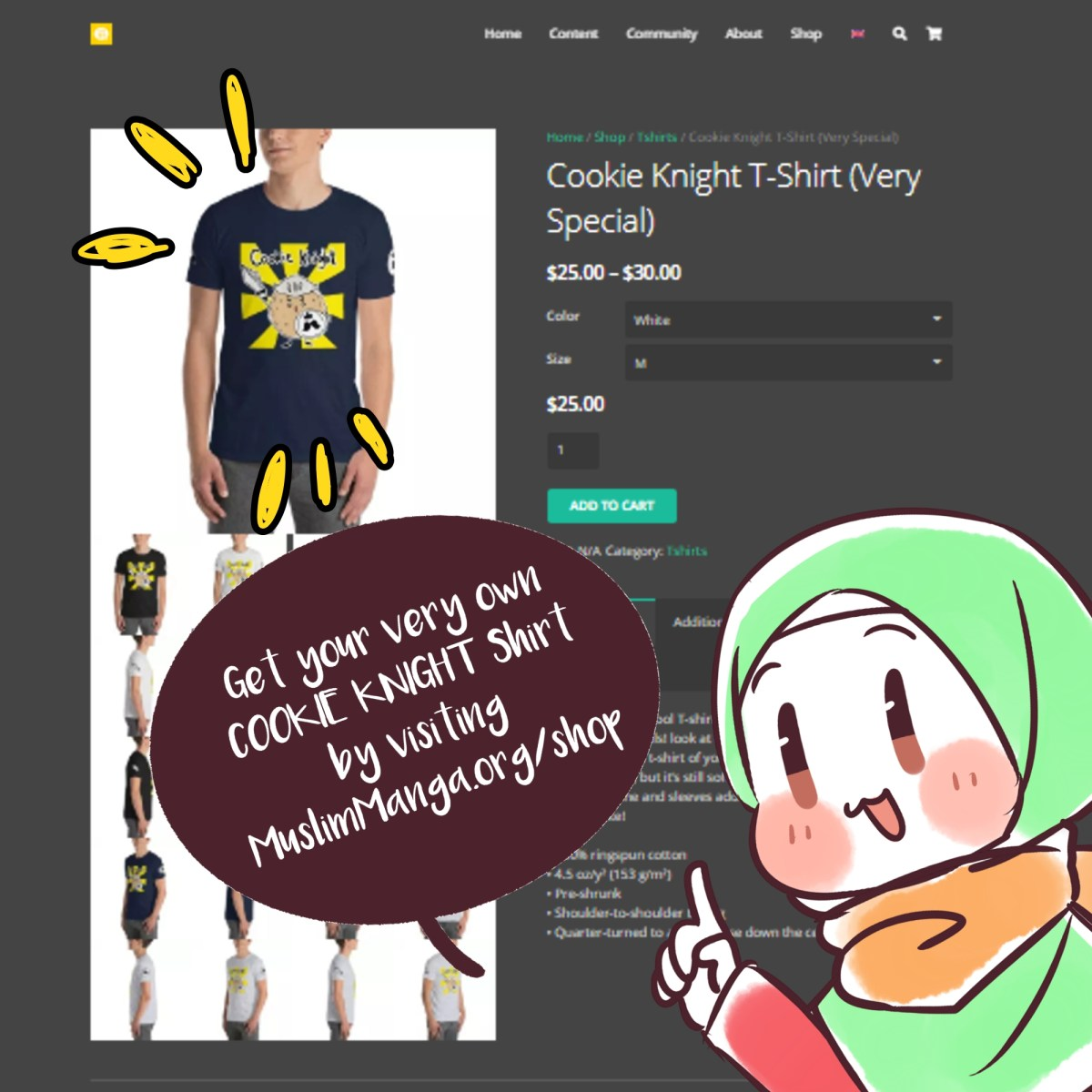 cookie knights shirt 3