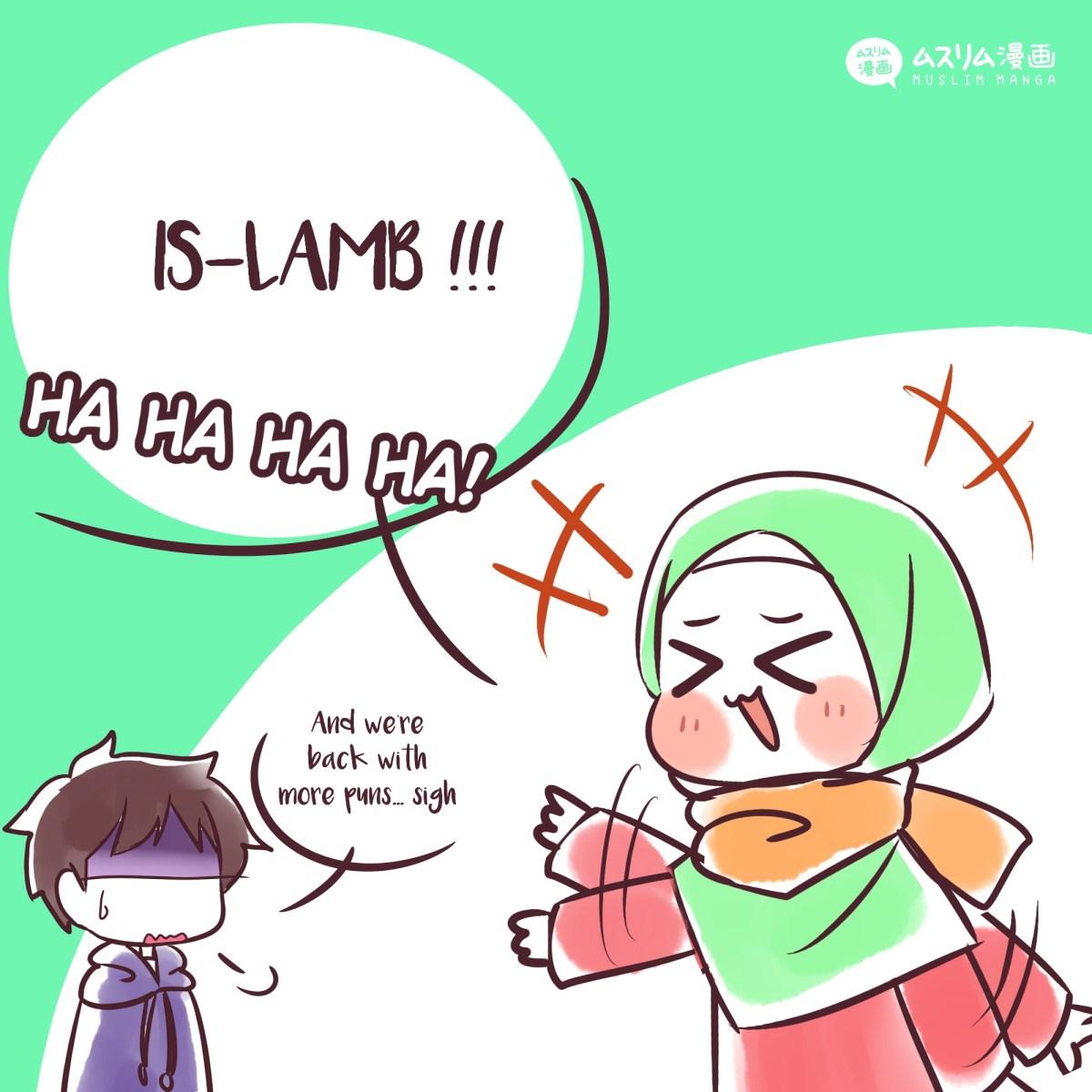 fun puns: islamb 2