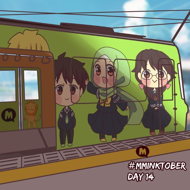 Day 14: All aboard the Muslim Manga train!