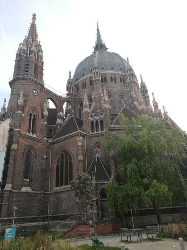 Church Maria from Siege, Vienna, Austria