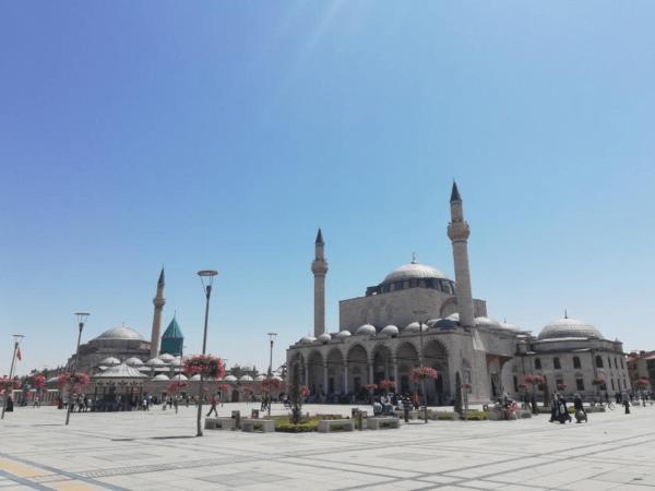 Selimiye Mosque and Mevlana Museum, Konya, Turkey