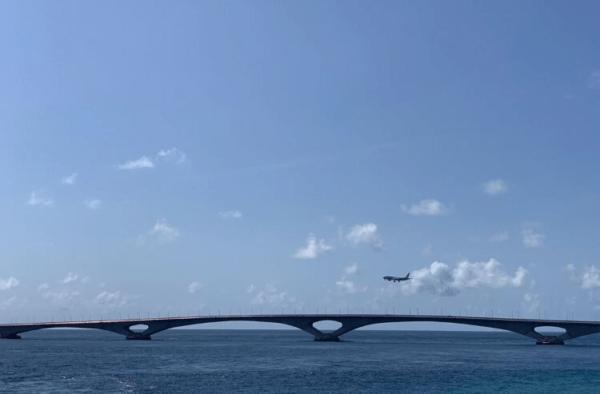 Sinamale Bridge, Maldives