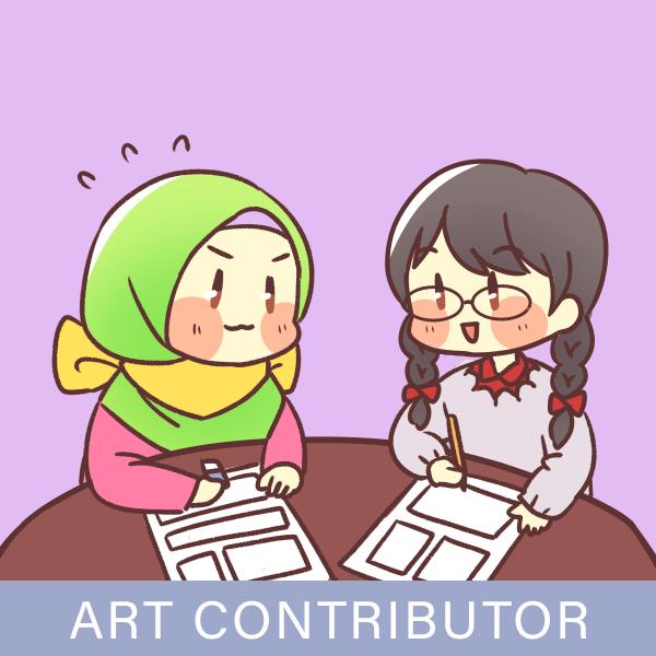 Muslim artist contributor hijabi comic manga anime