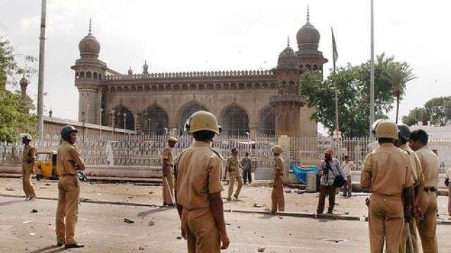 Image result for makkah masjid blast