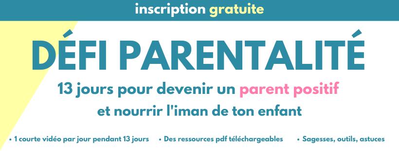 défi parentalité