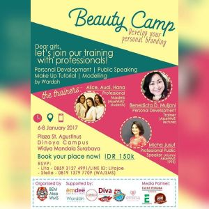 Beauty-Camp-Develop-Your-Personal-Branding-Unika-Widya-Mandala-Surabaya-6-8-Januari-2017