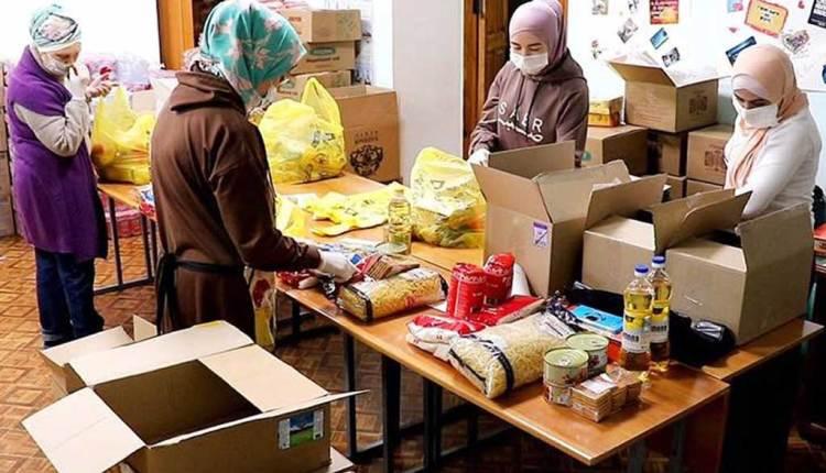 مساجد روسيا تتحول لمراكز إجتماعية خيرية لمساعدة المحتاجين