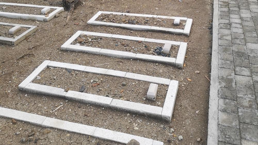 Foto Ilustrasi Pemakaman Kuburan Muslim di Solo