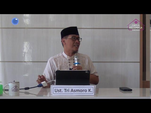 Profil Biografi Ustadz Tri Asmoro Kurniawan