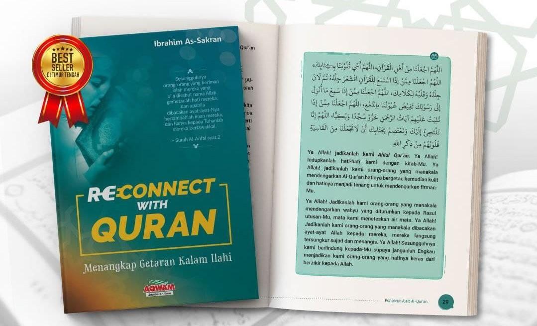 Review Buku Reconnect With Quran Penerbit Aqwam
