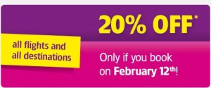 Today Only: WIZZ AIR Celebrating their Anniversary with 2FOR1 TICKETS