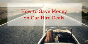 How to Save Money & Find Discount Car Rental Deals