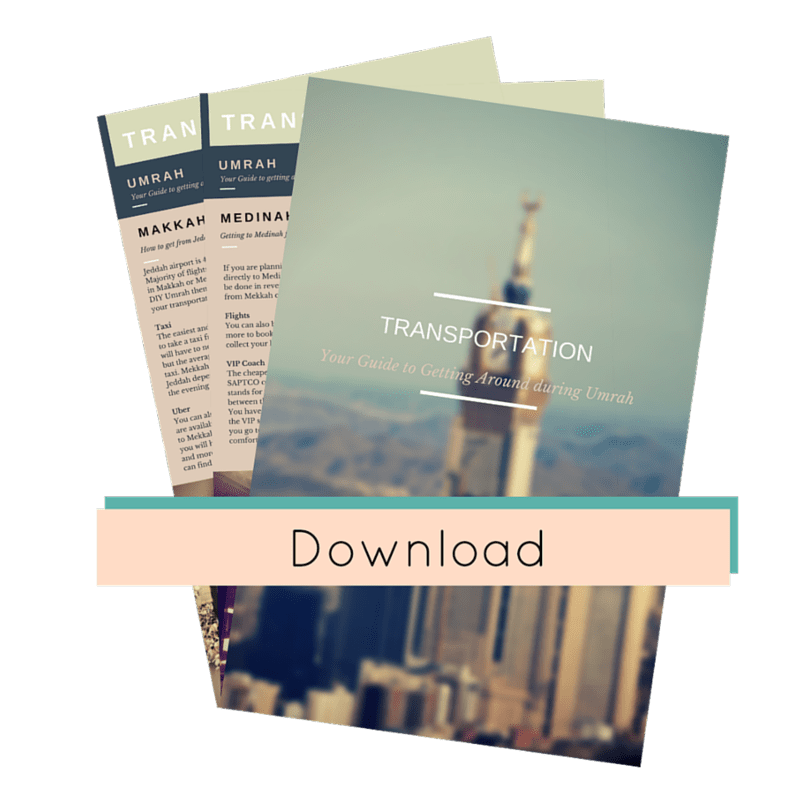 Use these 5 tips to book your diy umrah and save hundreds get your free umrah transportation guide pdf here solutioingenieria Choice Image