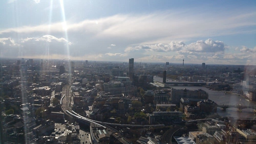 The Best views in London for a Delicious Halal Meal at Ting Restaurant the Shard / Halal meal ting restaurant