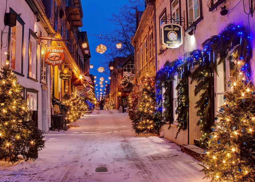 The Best Places To Spend Christmas, Canada