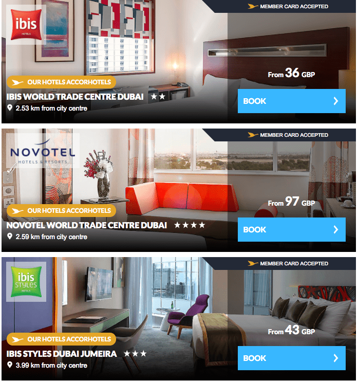 Accorhotels Promotion 3 for 2 Around the World