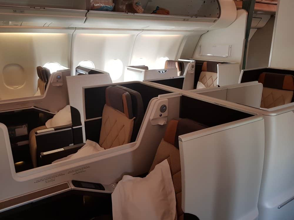 Oman Air Business Class Redemption with Etihad miles